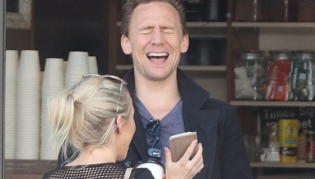 EXCLUSIVE. Coleman-Rayner - £40 Gold Coast, Queensland, Australia. September 11, 2016 Tom Hiddleston seen flirting with a Taylor Swift look-alike just a couple of days after his split from the songstress. The 'Thor' star and the mystery blonde had a laugh and checked out something on her cellphone at a local coffee shop in Broadbeach. CREDIT LINE MUST READ:Coleman-Rayner Tel US (001) 310-474-4343 - office  Tel US (001) 323 545 7584 - mobile