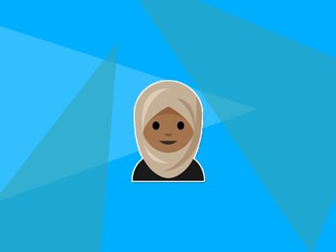 A teenage girl has designed and proposed a hijab emoji