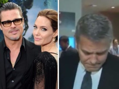 'Wow, I didn't know': George Clooney learns about Brad Pitt and Angelina Jolie's divorce mid-interview