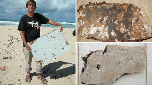 'Burnt' pieces of debris found in search for missing Malaysia flight MH370