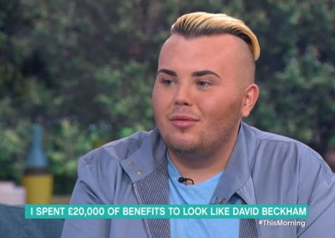 This Morning viewers outraged over David Beckham wannabe's £20k benefits spend on surgery