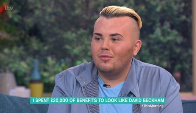 Jack Johnson appeared on This Morning (Picture: ITV)
