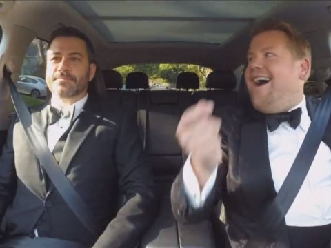 WATCH: James Corden's Carpool Karaoke invaded the Emmys with Jimmy Kimmel and Wham!