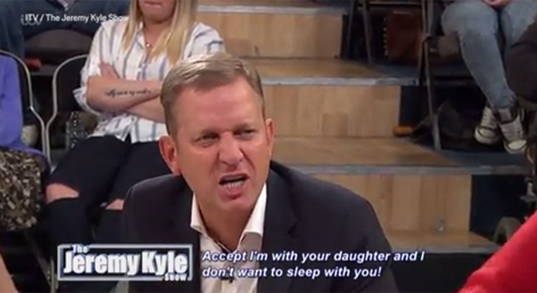 'The world's gone nuts!' Jeremy Kyle loses it with guest who doesn't work 'because of her dog'