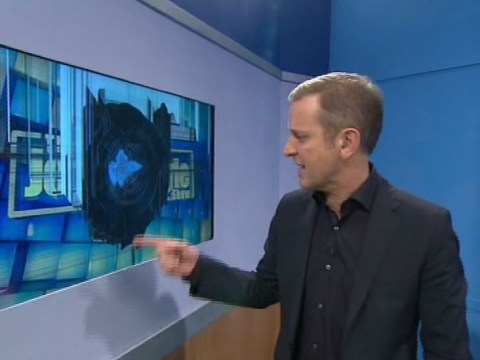 Jeremy Kyle guest loses it after lie detector results, smashes TV