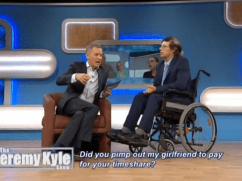 Viewers slam Jeremy Kyle for telling a man in a wheelchair to 'sit down and shut up'