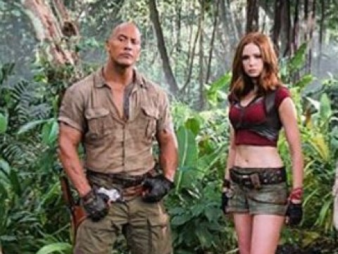 First look at Kevin Hart, Dwayne Johnson and Karen Gillan in Jumanji sequel