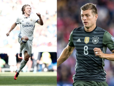 Paul Scholes recommends Manchester United sign Luka Modric or Toni Kroos to partner Paul Pogba