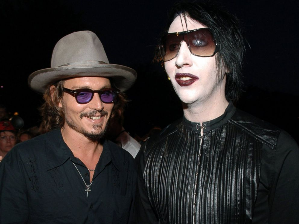 Marilyn Manson claims that Johnny Depp was 'crucified' during divorce from Amber Heard