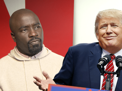 Luke Cage star Mike Colter slams Donald Trump's presidential campaign