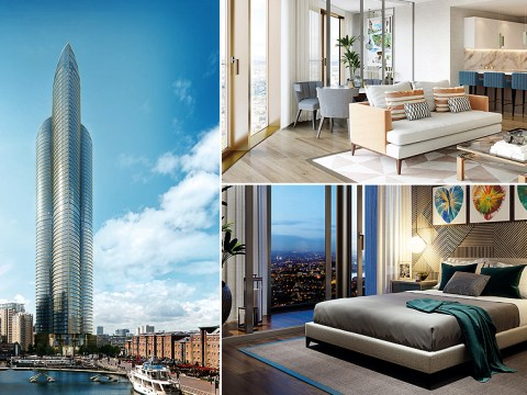 London will have a new skyscraper – and it'll be the tallest residential building in Western Europe
