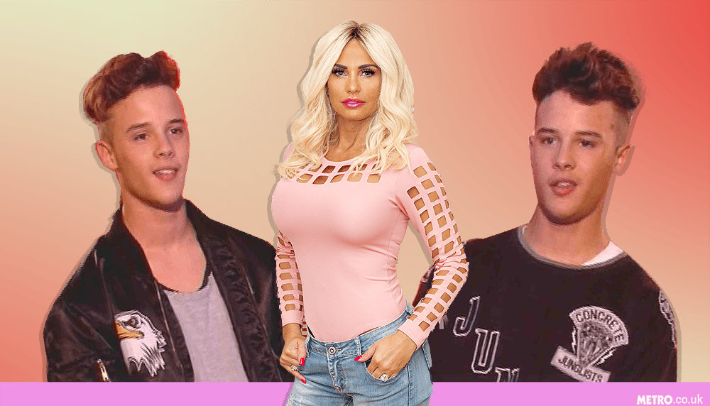 Katie Price shocked Xtra Factor viewers after suggesting a threesome with The Brooks (Picture: REX / ITV)