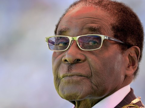 Robert Mugabe unveils statue of himself and it 'looks like a Simpsons character'