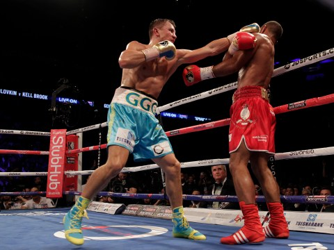 Gennady Golovkin remains undefeated with stoppage victory over Kell Brook at the O2 Arena in London
