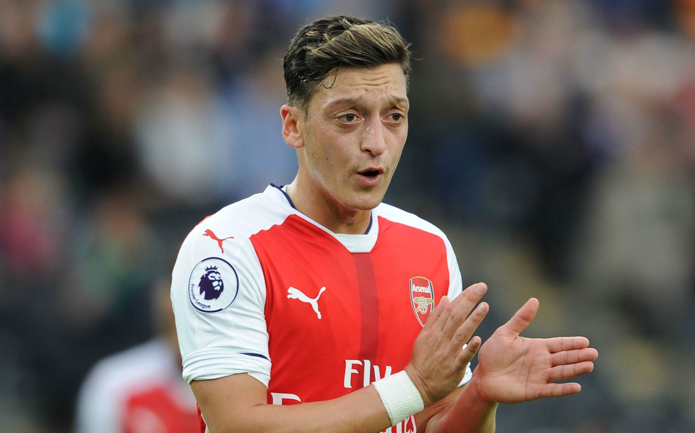 Arsenal star Mesut Ozil broke personal record for most passes (104) in Premier League match against Hull