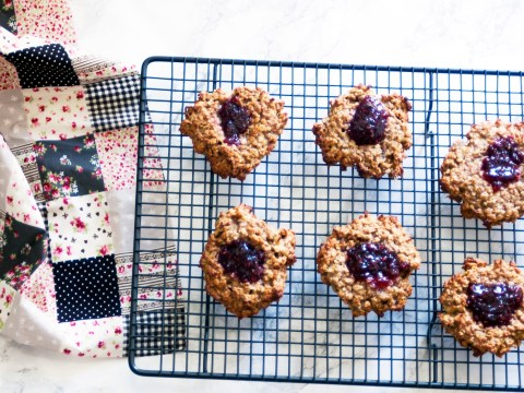 National Peanut Butter Day 2017: Peanut butter and jam cookie recipe