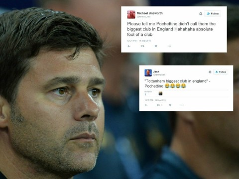 Chelsea, Manchester United, and Arsenal fans lay into Mauricio Pochettino after Tottenham go 2-0 behind against AS Monaco