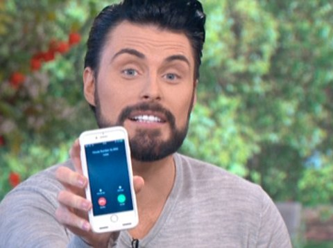 Rylan Clark-Neal's house was 'burgled' live on This Morning