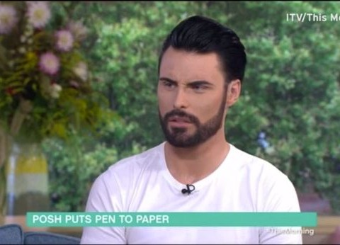 Rylan Clark-Neal was not happy that he wasn't asked to interview Victoria Beckham