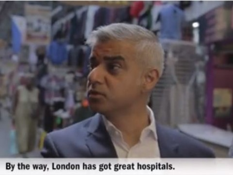 Sadiq Khan told a joke and it was actually quite funny