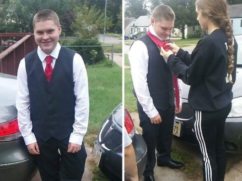 16-year-old gets kitted out for first dance after sister reached out to the internet for help