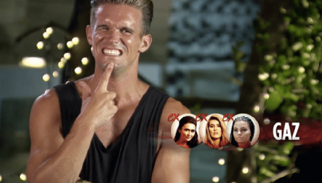 Ex On The Beach S5E6 Gaz Beadle (Picture: MTV)