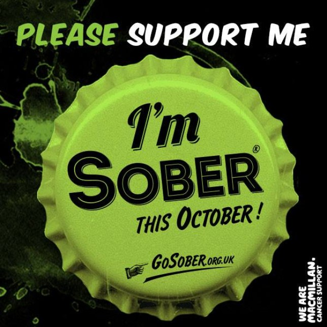 (Picture: Go Sober For October)