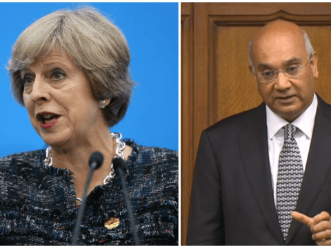 Theresa May says people need confidence in their MPs amid Keith Vaz scandal