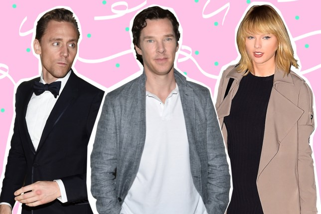 There was an elephant in the room as Benedict Cumberbatch and Tom Hiddleston didn't discuss Taylor Swift (Picture: Getty)
