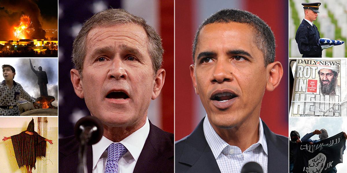 It's been 15 years since George W. Bush declared 'War on Terror'