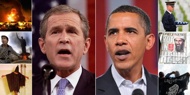 War on Terror anniversary comp credit: Getty