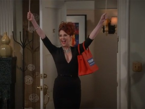 The Will & Grace reunion has happened – but it's only a sketch for the presidential election