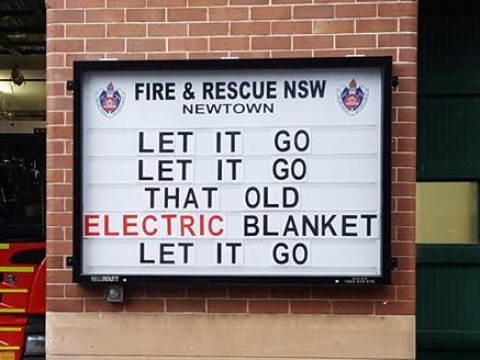 This fire station keeps posting dad jokes and they're amazing