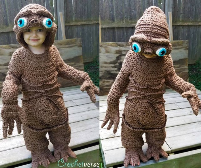 This Mom Crochets Her Kid's Halloween Costumes And They're Just Perfect