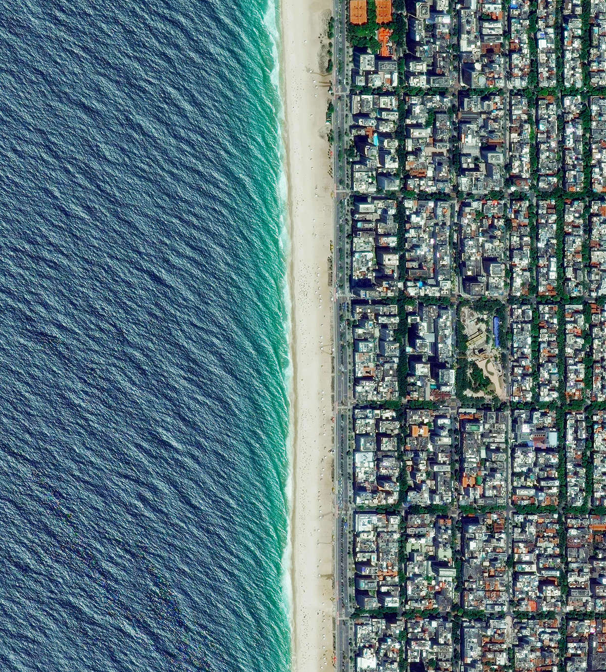 Satellites beautifully document our planet's destruction