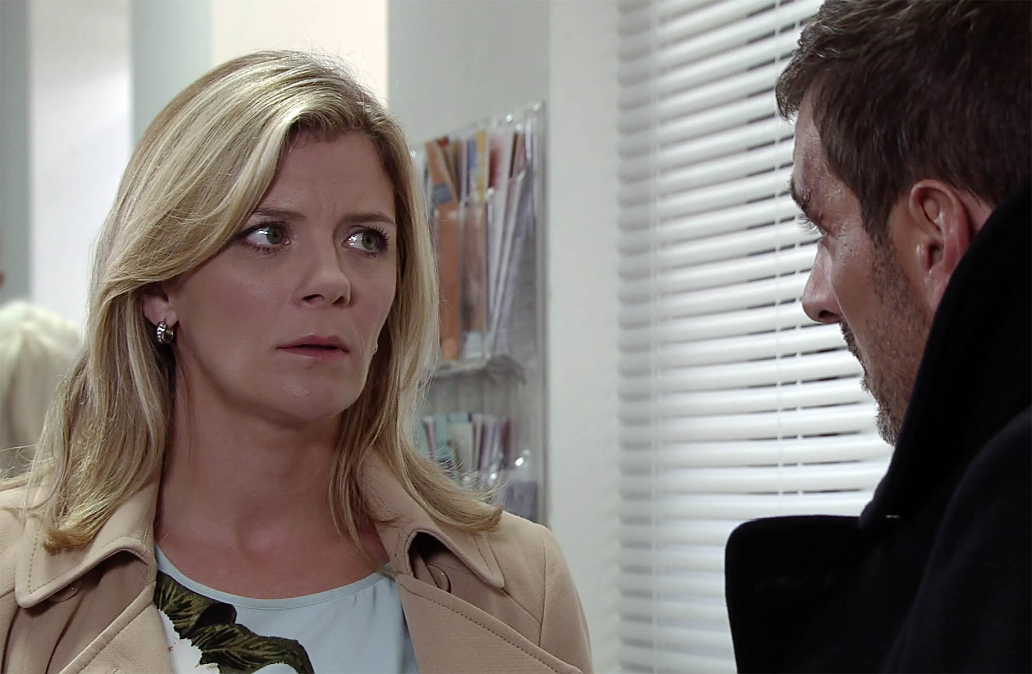 FROM ITV STRICT EMBARGO - NO USE BEFORE TUESDAY 11 OCTOBER 2016 Coronation Street - Ep 9017 Friday 21 October 2016 - 1st Ep Leanne Tilsley in a manner which alters the visual appearance of the person photographed deemed detrimental or inappropriate by ITV plc Picture Desk. This photograph must not be syndicated to any other company, publication or website, or permanently archived, without the express written permission of ITV Plc Picture Desk. Full Terms and conditions are available on the website www.itvpictures.com