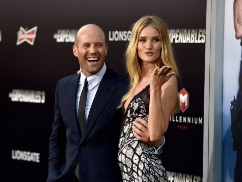 Jason Stathan and Rosie Huntington Whitley are giving everyone relationship goals