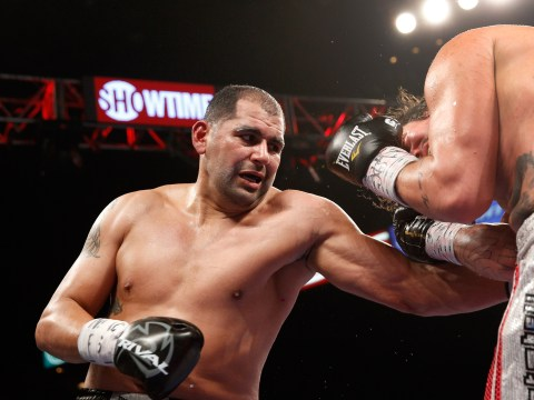Who is Eric Molina the boxer set to face Anthony Joshua in Manchester on December 10?