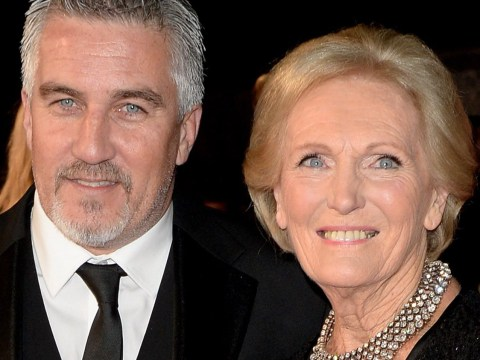 Mary Berry admits that Paul Hollywood is 'quite sexy' but adds: 'Don't tell him'