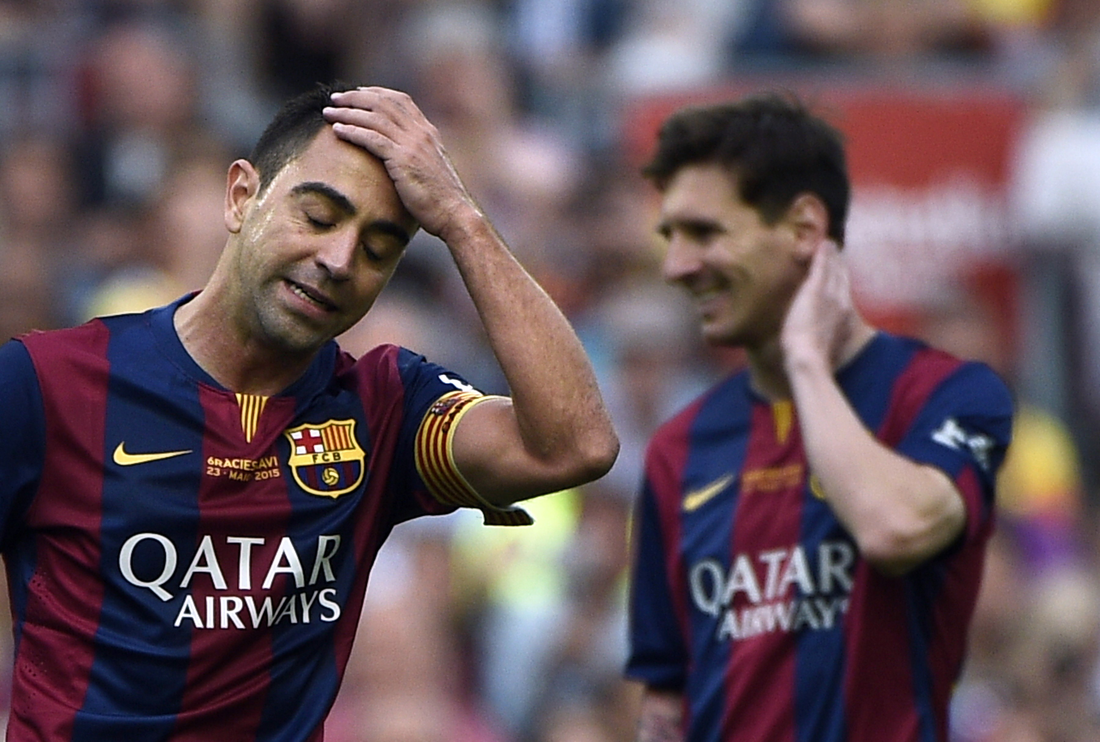 Xavi thinks Cristiano Ronaldo 'has the numbers' over Lionel Messi to win the Ballon d'Or