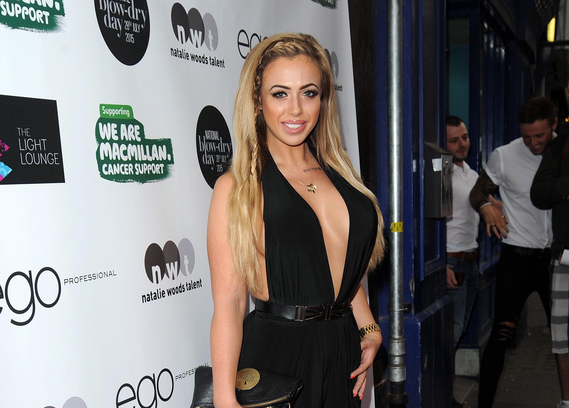 Holly Hagan to get the awkward tattoo of Kyle Christie's face lasered off her neck