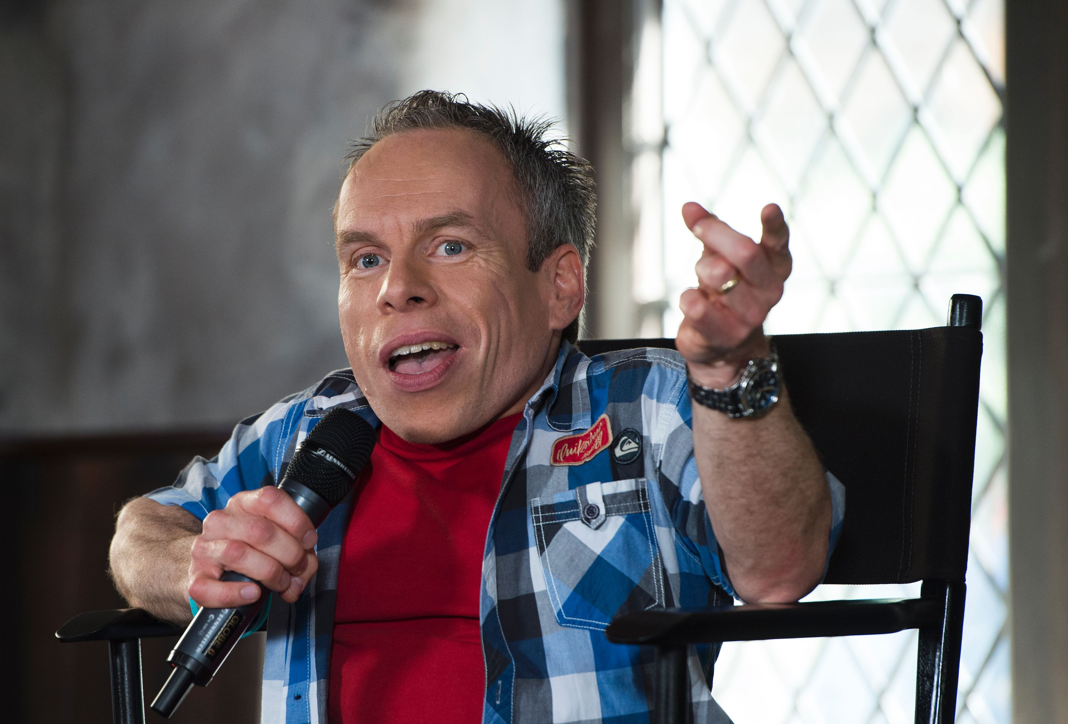 Warwick Davis confirms he is back for Star Wars Episode 8