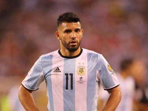 Manchester City striker Sergio Aguero declares himself fit for Argentina after injury scare