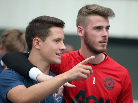 Ander Herrera thought Spain call-up was a David De Gea prank
