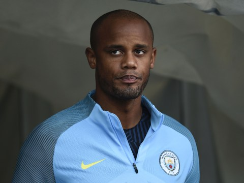 Manchester City ace Vicent Kompany ruled out of Huddersfield clash through injury