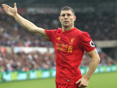 Liverpool vice-captain James Milner has never lost a Premier League match that he has scored in