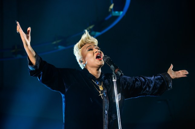 Emeli Sande performs at St John-at-Hackney Church on October 6, 2016 in London, England. (Picture: Joseph Okpako/WireImage)