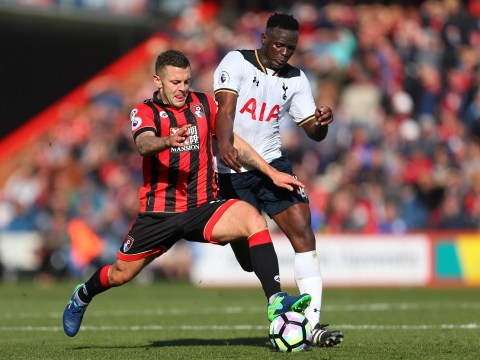 Arsenal loanee Jack Wilshere completes 90 minutes for Bournemouth vs Tottenham
