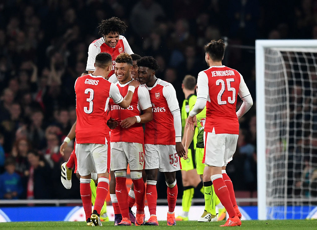 When is the EFL Cup draw featuring Arsenal and Liverpool taking place?