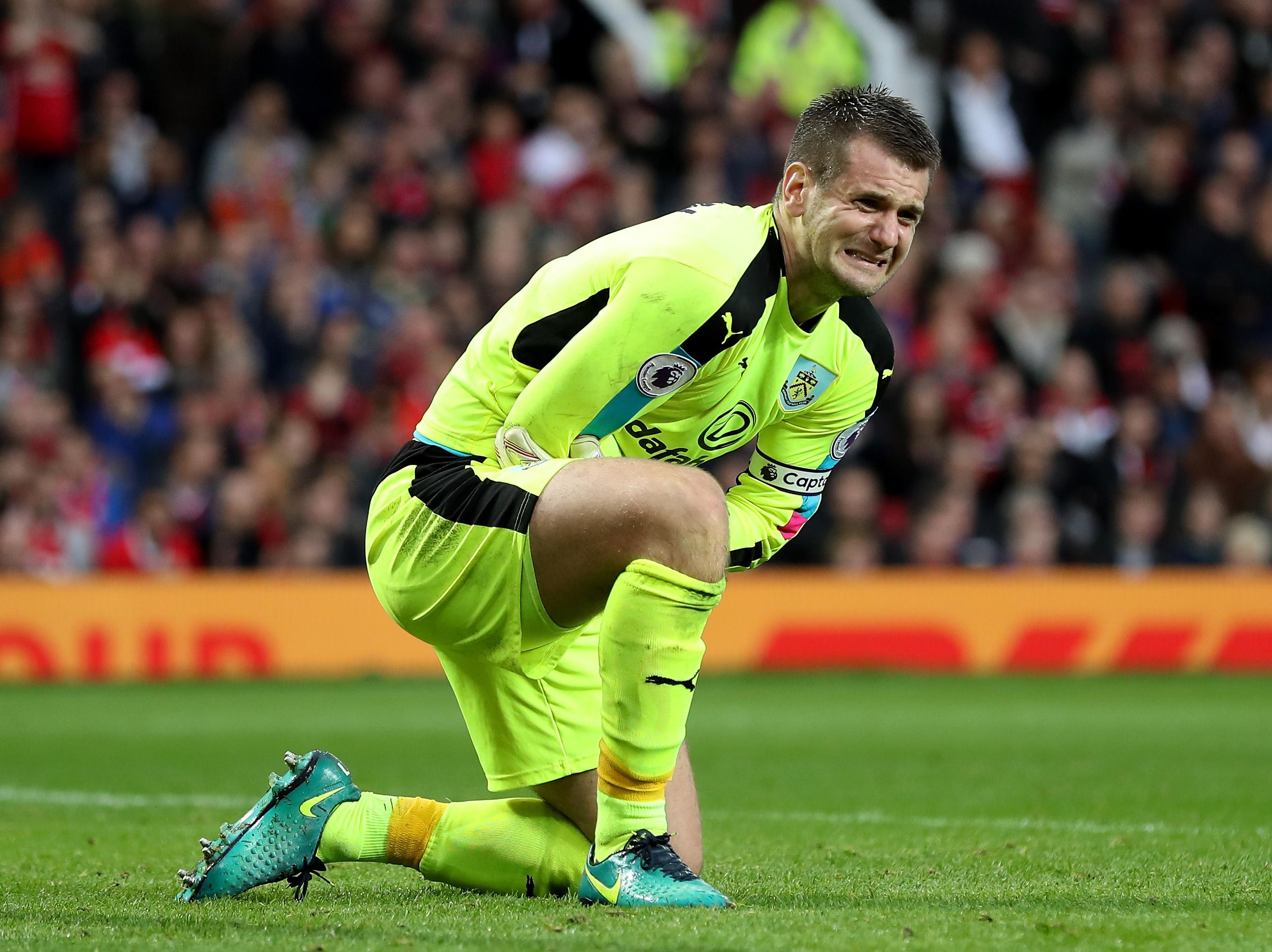 Zlatan Ibrahimovic nearly broke my arm, says Burnley hero Tom Heaton
